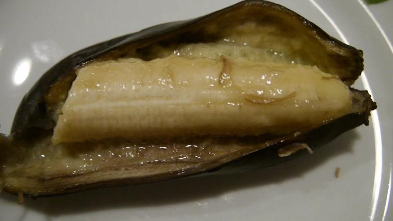 かんたんトースター焼きバナナ